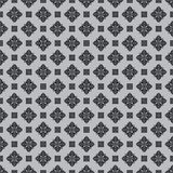 Vector seamless pattern background. Classical luxury old fashioned grey and black ornament, royal victorian seamless texture. For wallpapers, textile, wrapping royalty free illustration