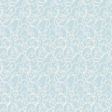 Vector seamless pattern background with scroll ornament. Royalty Free Stock Image