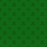 Vector seamless pattern background for St. Patrick's Day Stock Photography