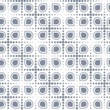 Vector seamless pattern without background. Vector geometric seamless pattern without background, scalable, colorable. EPS 8 format, can be opened by latest Royalty Free Stock Photography