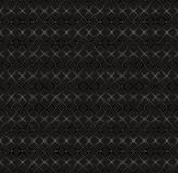 Vector seamless pattern, black textured Stock Photography