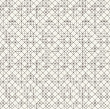 Vector seamless pattern. Black and white abstract background. Royalty Free Stock Image