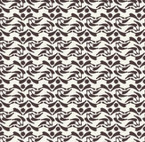 Vector seamless pattern. Black and white abstract background. Stock Photo