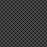 Vector seamless pattern, black & white figures Stock Photos