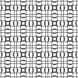 Vector seamless pattern, black and white geometric figures. Abstract repeat monochrome background. Seamless pattern, black and white geometric figures. Abstract Royalty Free Stock Images