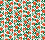 Vector seamless pattern of briar Royalty Free Stock Image