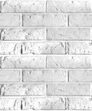 Vector seamless pattern of brick wall. Royalty Free Stock Image