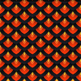 Vector seamless pattern. Bright oriental seamless pattern. This is file of EPS8 format Royalty Free Stock Photography