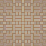Vector seamless pattern of brown fabric. Royalty Free Stock Images