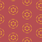 Vector seamless pattern with burgundy color Stock Images
