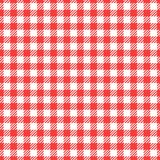 Vector Seamless pattern. Cell background red color fashion cloth cage. Abstract checkered backdrop on white. Vector Seamless pattern. Cell background red color royalty free illustration