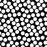 Vector seamless pattern, chaotic dots Stock Photos