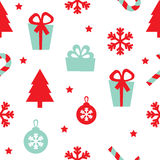 Vector seamless pattern Christmas Royalty Free Stock Images