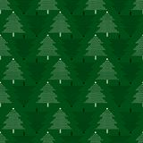 Vector seamless pattern with Christmas trees. New Year background, pattern. Vector seamless pattern with Christmas trees. New Year background, pattern Royalty Free Stock Photos