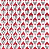 Vector seamless pattern circle background Stock Photos