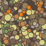 Vector seamless pattern of colored circles with Stock Photos