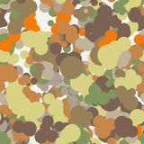 Vector seamless pattern of colored circles Royalty Free Stock Images