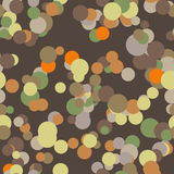 Vector seamless pattern of colored circles Stock Photos