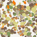 Vector seamless pattern of colored circles Royalty Free Stock Image