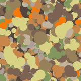 Vector seamless pattern of colored circles Stock Images