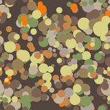 Vector seamless pattern of colored circles Royalty Free Stock Photography