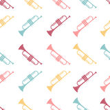 Vector seamless pattern Royalty Free Stock Photo