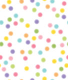Vector seamless pattern, colorful circles shapes. Background is my creative handdrawing and you can use it for kids design and etc, made in vector, Adobe Stock Photography