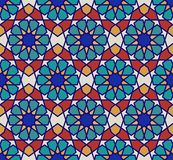 Vector seamless pattern. Colorful ethnic ornament. Arabesque style. Islamic art. Stock Photo