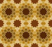 Vector seamless pattern. Colorful ethnic ornament. Arabesque style. Islamic art. Royalty Free Stock Image