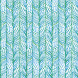Vector Seamless Pattern consist of Plait Royalty Free Stock Images