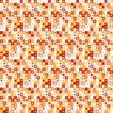 Vector seamless pattern. Consists of geometric elements.The elements have a square shape and different color. Royalty Free Stock Images