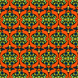 Vector seamless pattern Damask. Tribal african Vector seamless pattern Damask Stock Photos