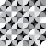 Vector seamless pattern. Decorative paneling pattern. Stock Images