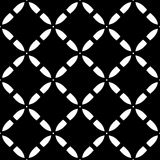 Vector seamless pattern, diagonal lattice texture Stock Photography