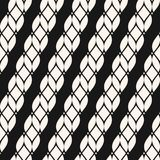 Seamless pattern with diagonal ropes. vector illustration
