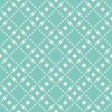 Vector seamless pattern with diamond shapes, stars. Abstract background in trendy pastel colors, aqua green and beige. Geometric seamless pattern with diamond vector illustration