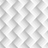 Vector seamless pattern with dots. Abstract ornamental background. Endless stylish texture. Optical illusion 3D. Modern stylish ab Stock Images