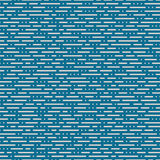 Vector seamless pattern from dots and lines Royalty Free Stock Image