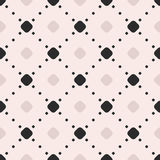 Vector seamless pattern, dotted lines, diagonal lattice, repeat Stock Photo