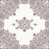 Vector seamless pattern in Eastern style. Stock Photos
