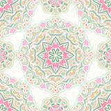 Vector seamless pattern in Eastern style. Royalty Free Stock Photography