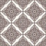 Vector seamless pattern in Eastern style. Royalty Free Stock Photos