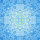 Vector seamless pattern in Eastern style. Stock Image