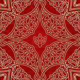 Vector seamless pattern in Eastern style. Royalty Free Stock Images