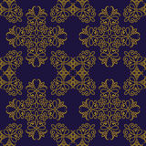 Vector seamless pattern in eastern style Royalty Free Stock Image