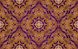 Vector seamless pattern in Eastern style. Royalty Free Stock Image