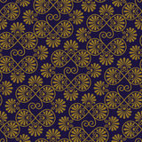 Vector Seamless Pattern. In eastern style, seamless pattern in swatch menu Stock Photography