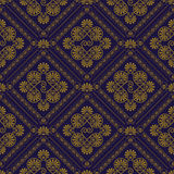 Vector Seamless Pattern. In eastern style, seamless pattern in swatch menu Royalty Free Stock Photo