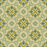 Vector Seamless Pattern. In eastern style, seamless pattern in swatch menu Stock Image