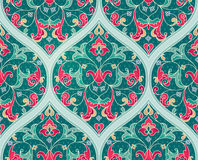 Vector seamless pattern in Eastern style. Stock Photography